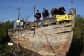Zapomniany kawałek historii - kuter rybacki WŁA-55