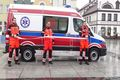 Przekazanie nowej karetki dla Szpitala Puckiego i dwóch samochodów dla DPS i SOSW