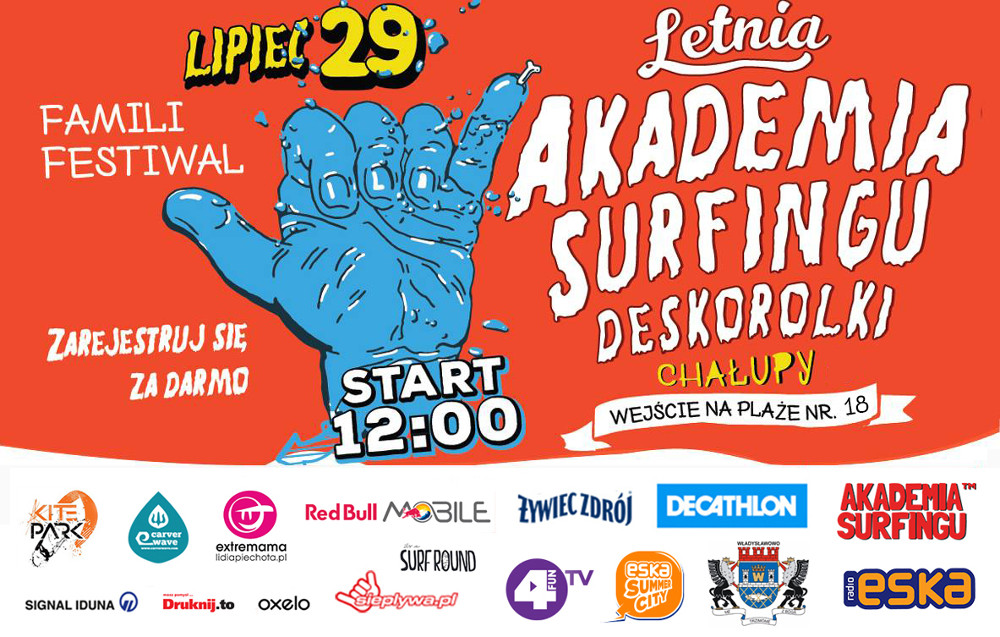 Letnia Akademia Surfingu w Chałupach