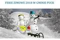 Ferie zimowe 2018 w Gminie Puck