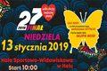 Wielka Orkiestra Świątecznej Pomocy Hel 2019 - harmonogram