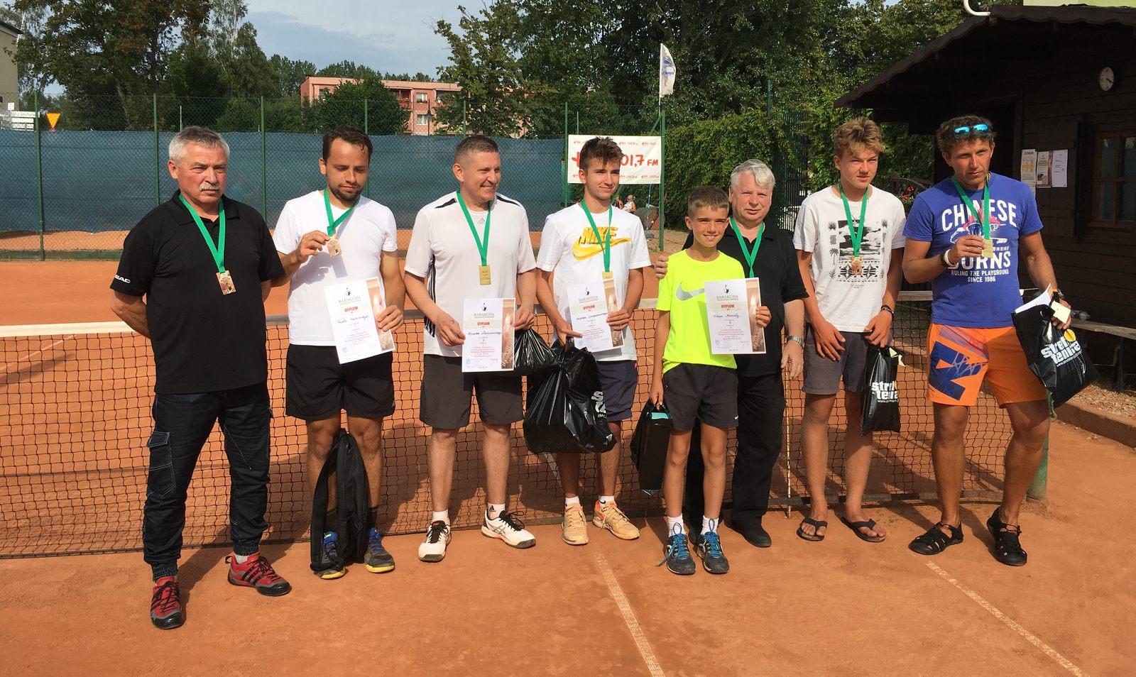 Finał Turnieju Tenisa Ziemnego o Puchar Burmistrza Helu